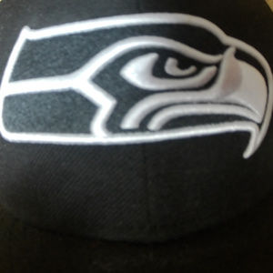 finest selection dfe44 115b7 New Era Accessories - New Era Blackout Seahawks Hat